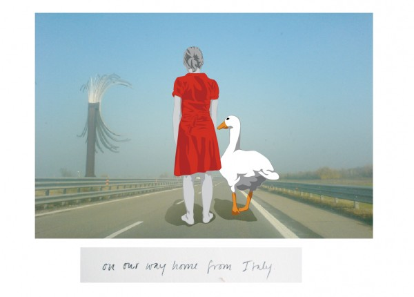 me & my goose